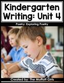 Kindergarten Writing Curriculum: Poetry