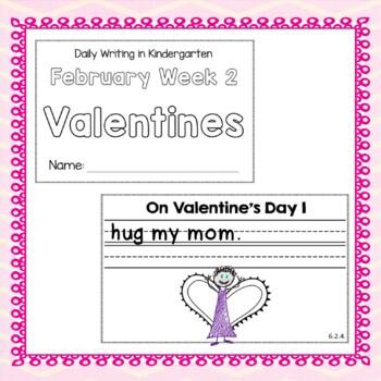 Kindergarten Writing  February