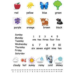 Kindergarten Writing Helping Hands