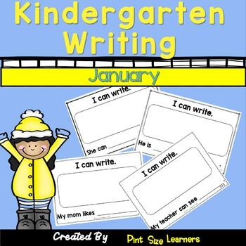 Kindergarten Writing Every Day  January