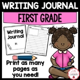 First Grade Writing Journal