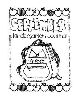 Kindergarten Writing Journal Covers