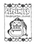 Kindergarten Writing Journal Covers