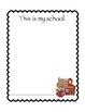 Kindergarten Writing Journal for the First Week of School