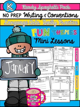Kindergarten Writing & Language Mini Lessons JANUARY