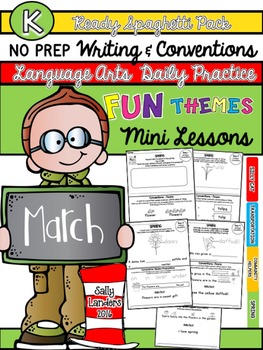 Kindergarten Writing & Language Mini Lessons MARCH