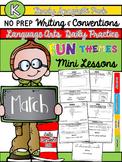 Kindergarten Writing & Language Mini Lessons MARCH