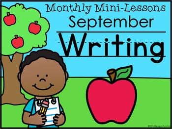Kindergarten Writing Mini-Lessons Bundle