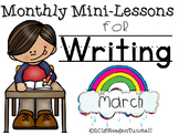 Kindergarten Writing Mini-Lessons March