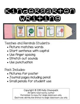 Kindergarten Writing Pack