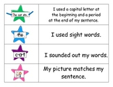 Kindergarten Writing Packet (rubrics, checklists and writi