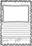 Writing Paper - Kindergarten-2nd Grade