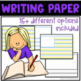 Classroom Writing Paper