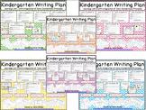 Kindergarten Writing Plans for Units 1-6 (Bundle Pack) Journeys/Core Connections