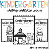 Kindergarten Writing Portfolio Covers