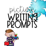 Kindergarten Writing Prompt Bundle