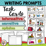 Kindergarten Writing Prompt Task Cards
