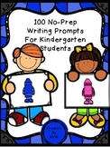 Kindergarten Writing Prompts