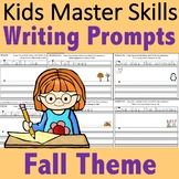 Kindergarten Writing Prompts - Fall Theme