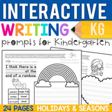 Kindergarten Writing Prompts: Holidays & Seasons