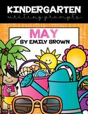 Kindergarten Writing Prompts: May *Notebook OR SmartBoard
