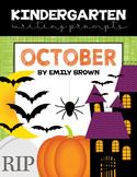 Kindergarten Writing Prompts: October *Notebook OR SmartBo