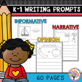 Kindergarten Writing Prompts | Distance Learning