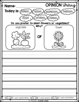 Writing prompts: opinion writing & picture prompts (the bundle.
