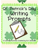 Kindergarten Writing Prompts - St. Patrick's Day