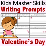 Kindergarten Writing Prompts - Valentine's Day