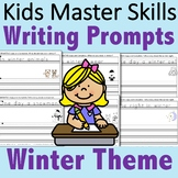 Kindergarten Writing Prompts - Winter Theme