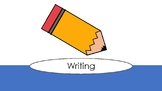 Kindergarten Writing Center Resource Pages