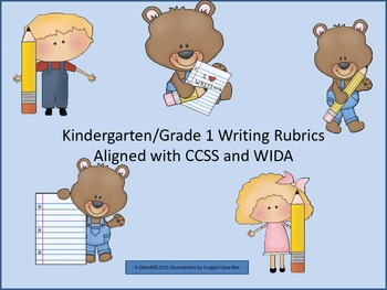 Rubrics: Writing for Early Primary and ESL Newcomers