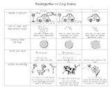 Kindergarten Writing Rubrics: First Semester
