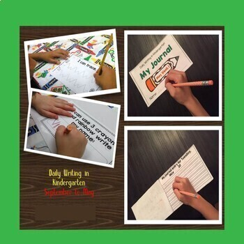 Kindergarten Writing  Sept to May Bundle