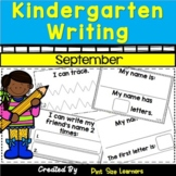 Kindergarten Writing Activities | September | Kinder Writi