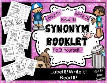 Kindergarten Writing-Synonyms