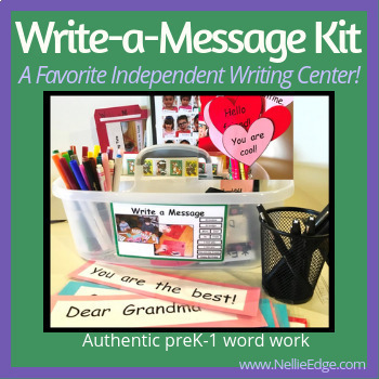 Kindergarten Writing Templates (166 pgs)