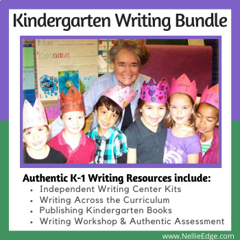 Kindergarten Writing Program Bundle (over 400 pages)