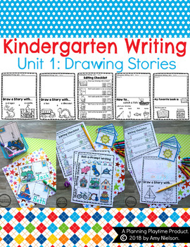 Kindergarten Writing Unit 1
