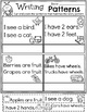 Kindergarten Writing Unit 3