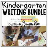Kindergarten Writing Workshop Bundle