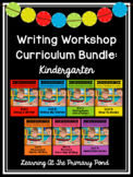 Kindergarten Writing Workshop Curriculum Bundle