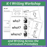 Kindergarten Writing Workshop and Writing Across the Curri