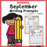 Kindergarten Writing prompts: Opinion Writing & Picture pr