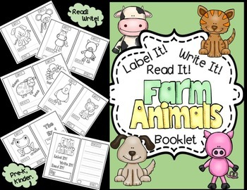 Kindergarten Writing-Farm Animals