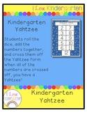 Kindergarten Yahtzee