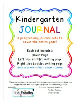 Kindergarten Year of Journals