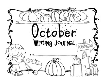 Kindergarten Year of Writing Prompt Calendars and Journal Pages (CC Aligned)