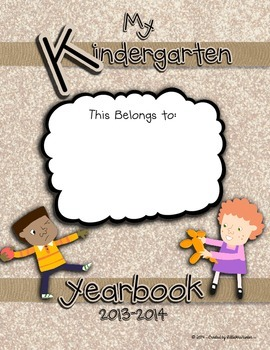 Kindergarten Yearbook 2013-2014